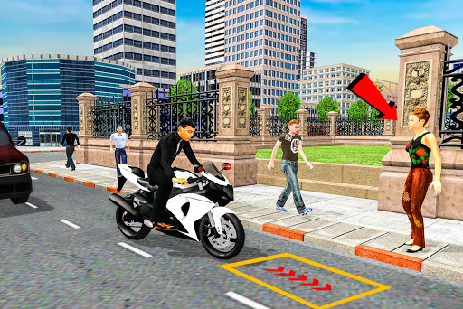 Bike Taxi Simulator: Passenger Transport Game  screenshots 2