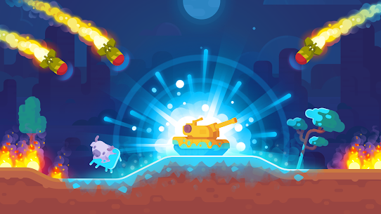 Tank Stars Mod APK (Unlimited Gems/Weapons) 3