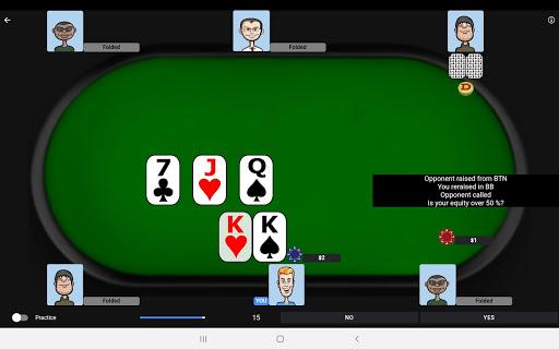 Poker Trainer - Poker Training Exercises 3.1.8 screenshots 9