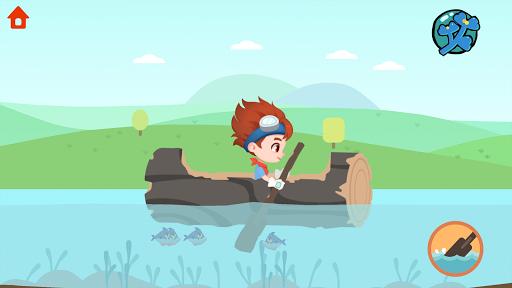 Dinosaur Time Machine - Time travel game for kids  screenshots 17