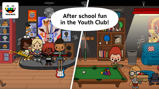 Toca Life: School screen 2