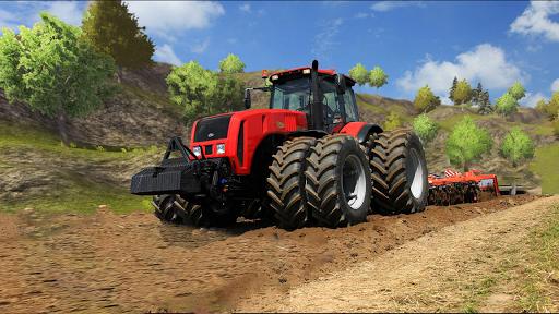 Tractor Drive 3D : Offroad Sim Farming Game 2.0.2 screenshots 1