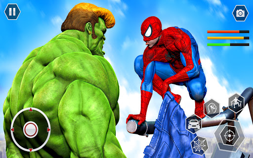 Spider Rope Superhero War Game - Crime City Battle  screenshots 10
