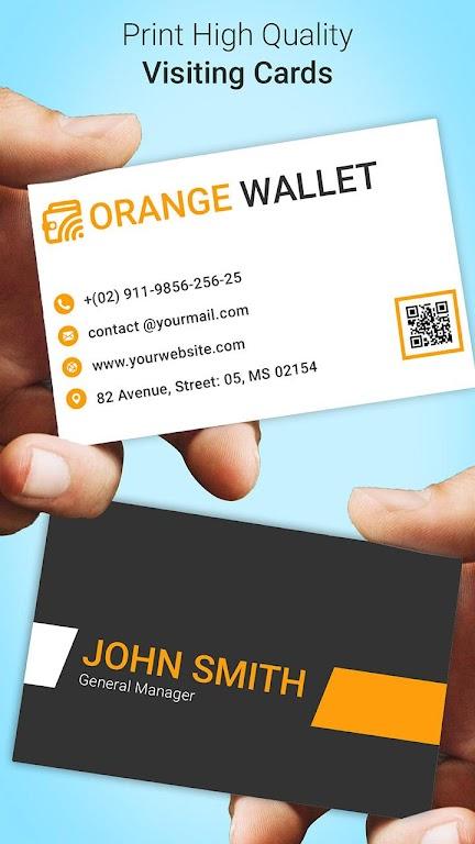 Business Card Maker  poster 4