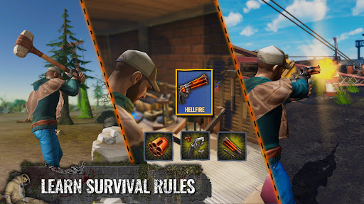 Days After: Zombie survival games. Post apocalypse  screenshots 3