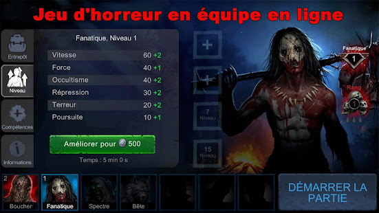 Horrorfield - Jeu de survie: horreur multijoueur screenshots apk mod 1