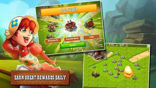 """Download The Oregon Trail: Settler Strategy game """"Oregon Trail: Immigrant"""" Android 4"""