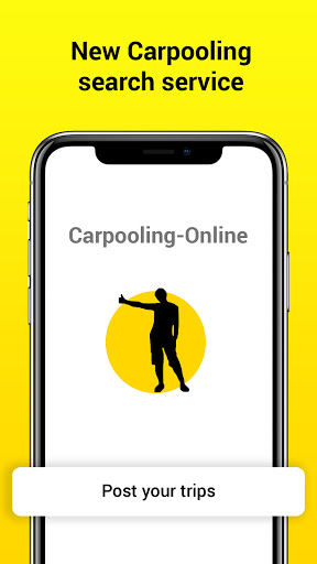 Carpooling-Online: travel companion search service  screenshots 1