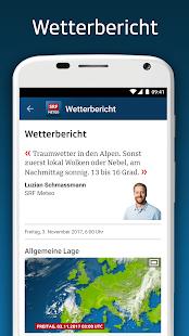 SRF Meteo - Wetter Prognose Schweiz 2.12 Screenshots 6