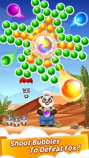 Bubble Shooter Cooking Panda  screenshots 3