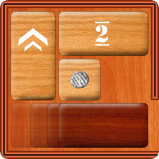 Unblock Red Wood - slide puzzle