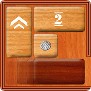 Unblock Red Wood - slide puzzle