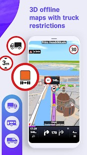 Sygic Truck GPS Navigation & Maps Screenshot