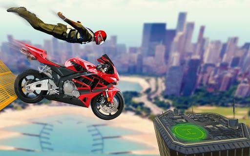 Bike Impossible Tracks Race: 3D Motorcycle Stunts  Screenshots 6