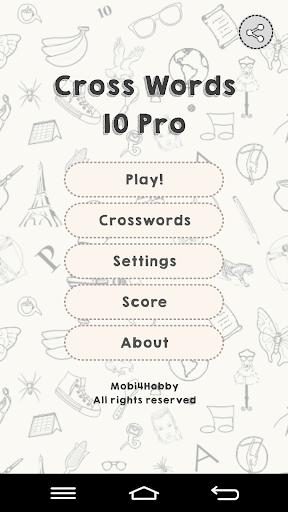 CrossWords 10 Pro 1.0.117 screenshots 1
