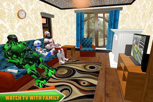Robotic Family Fun Simulator apkpoly screenshots 11