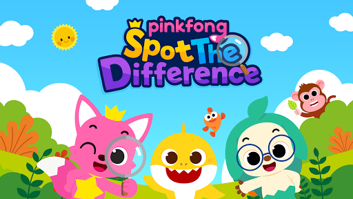 Pinkfong Spot the difference : Finding Baby Shark Latest screenshots 1