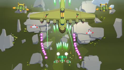Burning Sky: Aircraft Combat 3D  screenshots 4