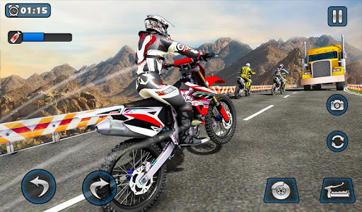 Dirt Bike Racing 2020: Snow Mountain Championship 1.0.8 screenshots 14