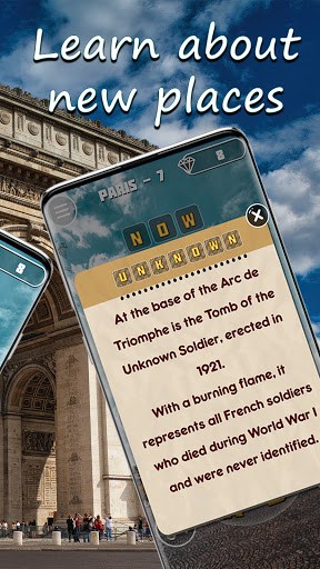 Words & travel puzzle: offline and free  screenshots 4