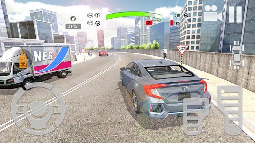 City Car Simulator 2020: Civic Driving  Screenshots 8