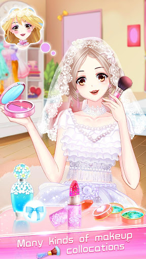ud83dudc70ud83dudc92Anime Wedding Makeup - Perfect Bride 2.6.5052 screenshots 17