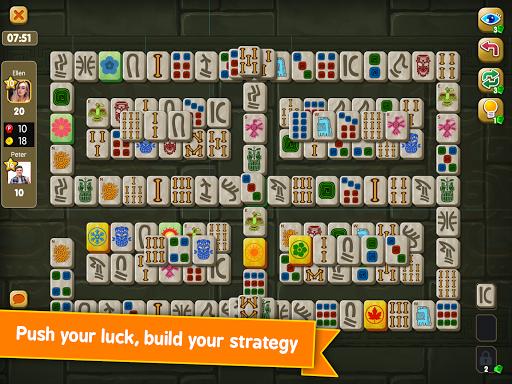 Mahjong Maya Puzzle Live Duels  screenshots 16