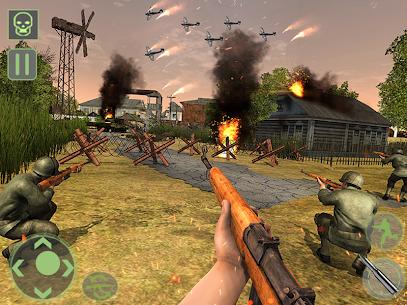 Frontline World War 2 Survival Mod Apk (God Mode) 6