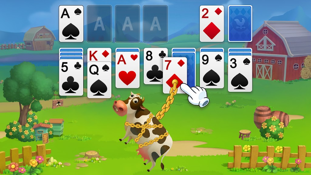 Solitaire - My Farm Friends poster 1