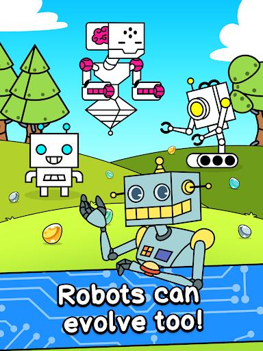 Robot Evolution - Clicker Game 1.0.3 screenshots 5