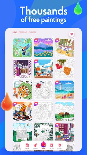 Painting games: Adult Coloring Books, Drawings apkdebit screenshots 20