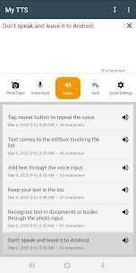 My TTS: Text-to-Speech MOD APK (Premium Unlocked) Download 1