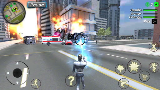 Hurricane Superhero : Wind Tornado Vegas Mafia  screenshots 4