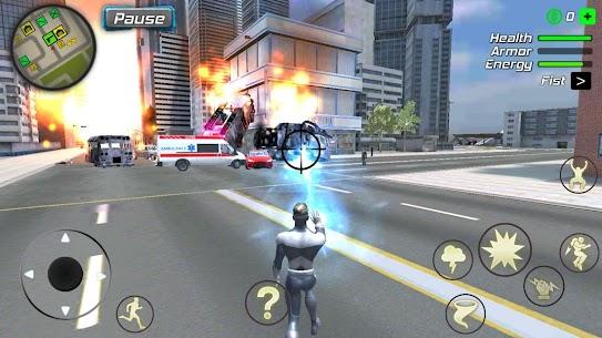 Hurricane Superhero Mod Apk: Wind Tornado Vegas Mafia (Unlimited Skills) 4