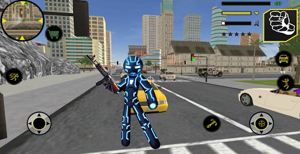 Black Stickman Rope Hero For Pc – Free Download – Windows And Mac 1