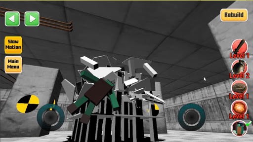 Destroy it all! Physics destruction, Fun Ragdolls 43 screenshots 5