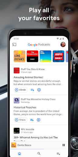 Google Podcasts: Discover free & trending podcasts  screenshots 1