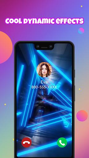 Call Screen Themes, Color Call Flash - Blingcall android2mod screenshots 2