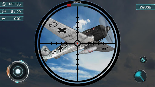 Sky war fighter jet: Airplane shooting Games 1.7 screenshots 9