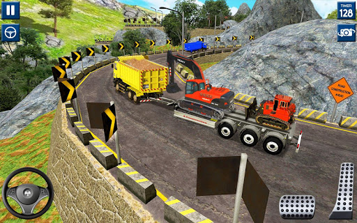 Heavy Excavator Simulator 2020: 3D Excavator Games modavailable screenshots 7