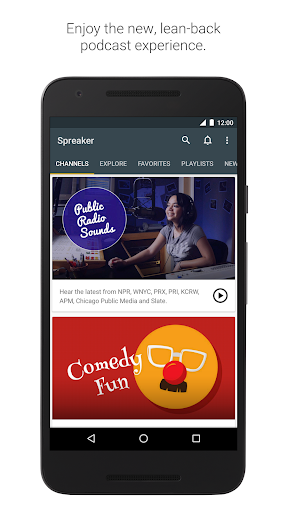 Spreaker Podcast Player - Free Podcasts App 4.15.4 Screenshots 1
