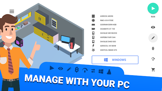 PC Creator MOD (Unlimited Money) APK for Android 5