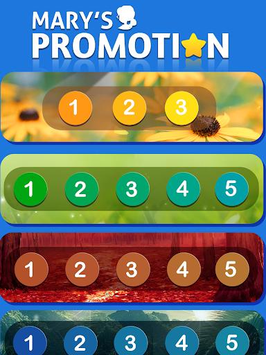 Maryu2019s Promotion- Wonderful Word Game  screenshots 12