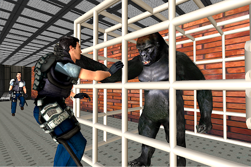 Gorilla Escape City Jail Survival 2.7 screenshots 1