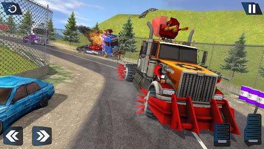 Semi Truck Crash Race 2021: New Demolition Derby 10