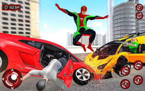 Superhero Light Robot Rescue: Speed Hero Games  Screenshots 10