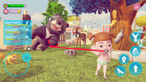 Baby Walker - Life Simulation Game apktram screenshots 3