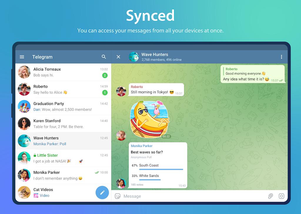 Telegram Mod Lite Latest 2021 poster 7