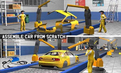 Car Maker Factory Mechanic Sport Car Builder Games 1.14 pic 2