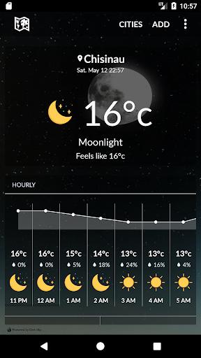 moldova weather screenshot 1